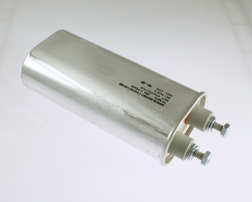 Picture of SCR10-800R5C CORNELL DUBILIER (CDE) capacitor 10uF 800V OIL Hermetically Sealed Radial