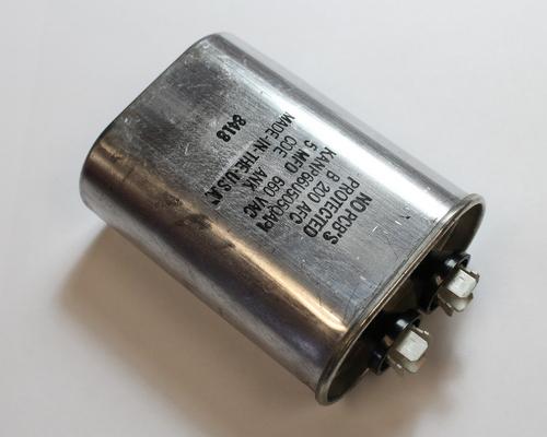 Picture of KANP66U505QAP1 Cornell Dubilier (CDE) capacitor 5uF 660V Application Motor Run