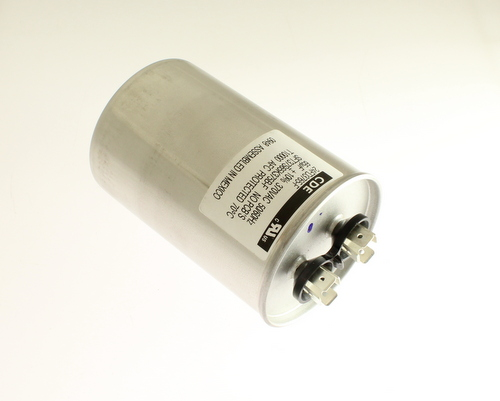 Picture of 24FD3765-F CORNELL DUBILIER (CDE) capacitor 65uF 370V Application Motor Run