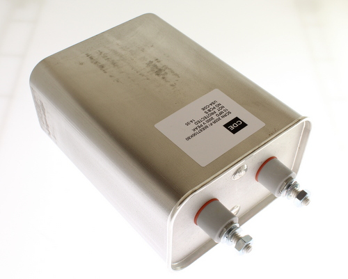 Picture of SCRN255R-F Cornell Dubilier (CDE) capacitor 10uF 2000V OIL Hermetically Sealed Radial