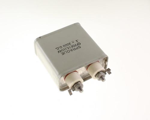 Picture of CP70E1EJ104V SPRAGUE capacitor 0.1uF 2000V OIL Hermetically Sealed Radial