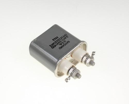 Picture of CP72E1EG104K1 SANGAMO capacitor 0.1uF 1000V OIL Hermetically Sealed Radial