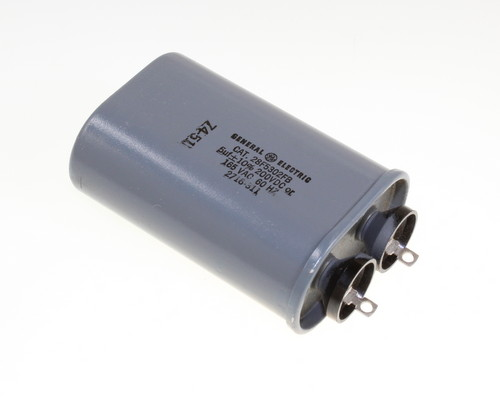 Picture of 28F5302FB GENERAL ELECTRIC capacitor 5uF 165V OIL Hermetically Sealed Radial
