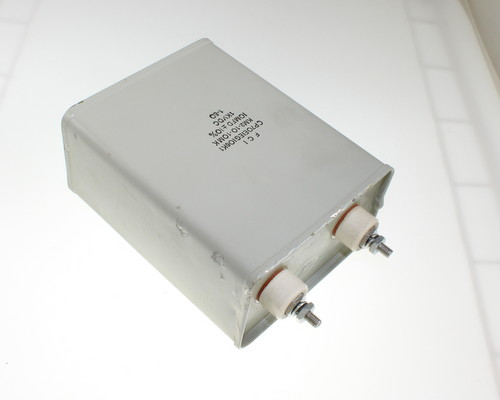 Picture of CP70E1EG106K1 FCI capacitor 10uF 1000V OIL Hermetically Sealed Radial