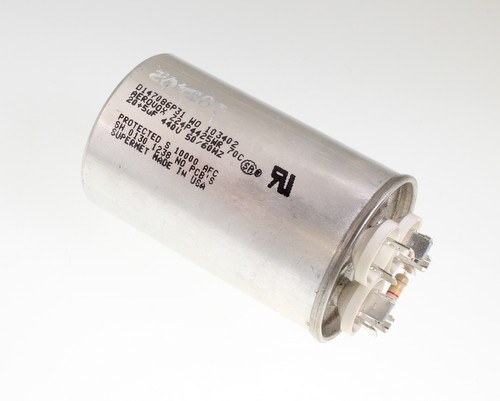 Z24p4425wr Aerovox Capacitor 20uf 440v Application Motor