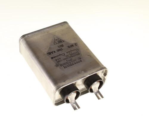 Picture of HVOC-.2-1KVAC INDUSTRIAL capacitor 0.2uF 1000V Application Motor Run