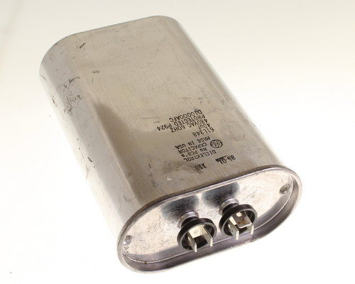 Picture of 61L348 GENERAL ELECTRIC capacitor 40uF 480V Application Motor Run