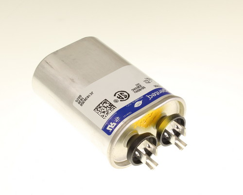 Picture of 97F6766 Genteq Capacitors capacitor 7uF 330V Application Motor Run