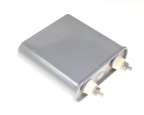 Picture of T20NW2 Cornell Dubilier (CDE) capacitor 2uF 700V OIL Hermetically Sealed Radial