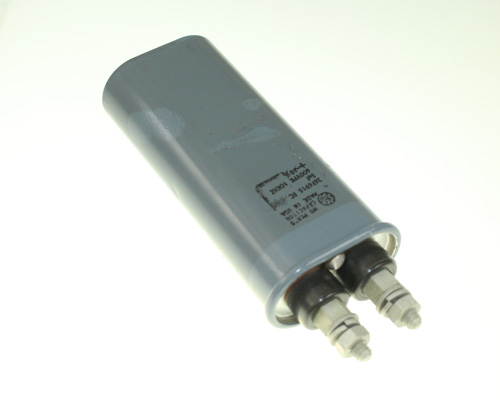 Picture of 26F6915FC GENERAL ELECTRIC capacitor 5uF 600V oil hermetically sealed radial