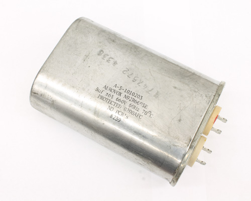 Picture of N92R6605E AEROVOX capacitor 5uF 660V Application Motor Run