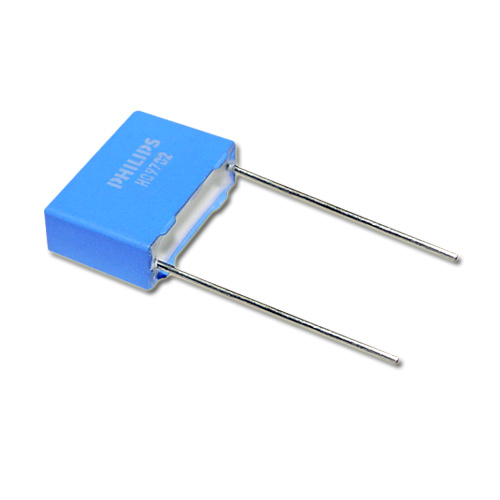 Picture of 2222-376-95122 PHILIPS capacitor 0.0012uF 2000V Film Polypropylene Radial
