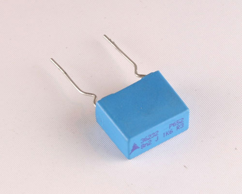 Picture of B32652A1822J178 EPCOS capacitor 0.0082uF 1600V Film Radial