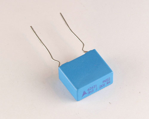 Picture of B32652A2332J178 EPCOS capacitor 0.0033uF 2000V Film Radial