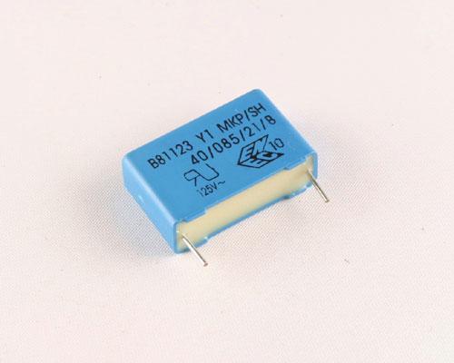 Picture of B81123C1682M EPCOS capacitor 0.0068uF 250V Box Cap RADIAL