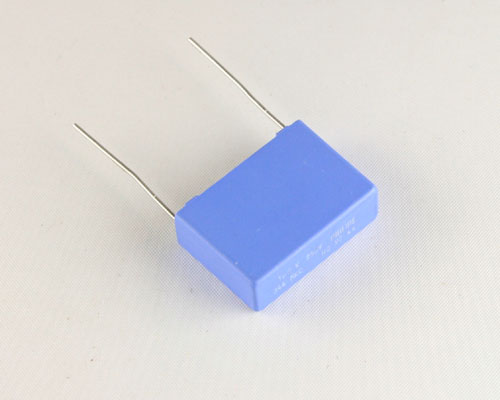 Picture of 222234448105 PHILIPS capacitor 1uF 250V Film Metallized Polycarbonate Radial