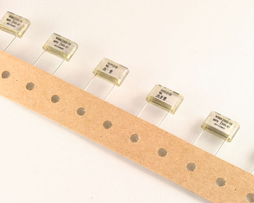 Picture of MP3-Y2-.001/20/250 WIMA capacitor 0.001uF 250V Film Metallized Paper Radial