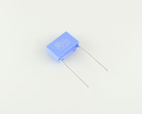 Picture of 2222-335-50104 PHILIPS capacitor 0.1uF 275V Film Metallized Polypropylene Radial