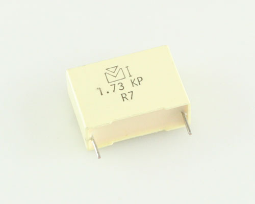 Picture of 173104J630Y MALLORY capacitor 0.1uF 630V Film Polypropylene Radial
