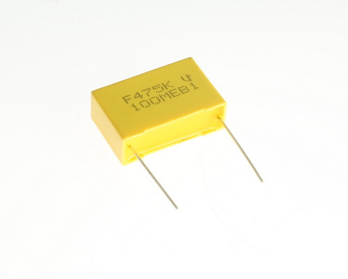 Picture of 1430-1475 XICON capacitor 4.7uF 100V Film Metallized Polyester Radial