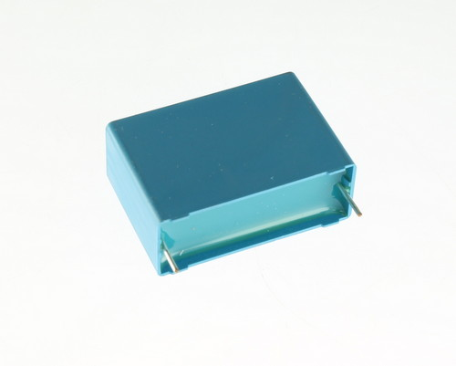 Picture of capacitors > metalized polypropylene box cap.