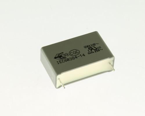 Picture of R463R410000M1M KEMET capacitor 1uF 300V Film Polypropylene Radial