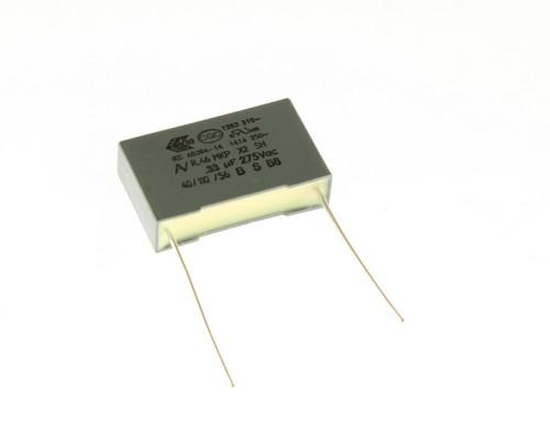 Picture of R46KN333050M1K KEMET capacitor 0.33uF 275V Film Polypropylene Radial