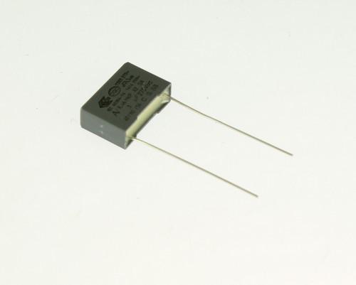 Picture of R46KI31004501K Kemet capacitor 0.1uF 275V Film Polypropylene Radial
