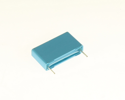 Picture of capacitors > metallized polyester box cap.