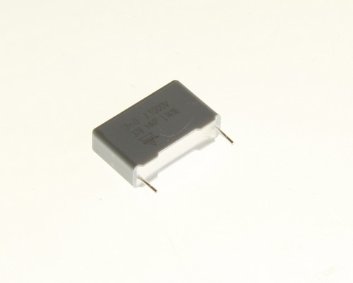 Picture of 222237874302 Vishay capacitor 0.003uF 1000V Film metallized polypropylene Radial