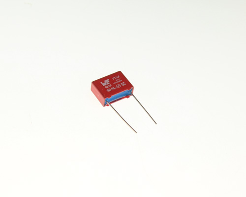 Picture of 890334023004 WURTH capacitor 0.0082uF 310V Film Metallized Polypropylene Radial