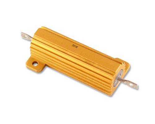 Picture of 50CH-350-1% PACIFIC resistor 350 Ohm 50W 1% Aluminum Housed
