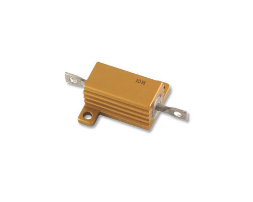 Picture of RMC-100-75-1% CAL-R resistor 75 Ohm 10W 1% Aluminum Housed
