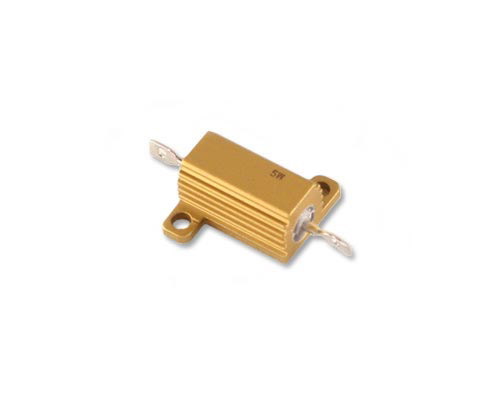 Picture of RER60F2R49R VISHAY resistor 2.49 Ohm 5W 1% aluminum housed