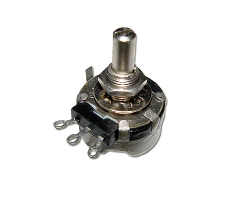 Picture of rv4 rv4naysg series potentiometers.