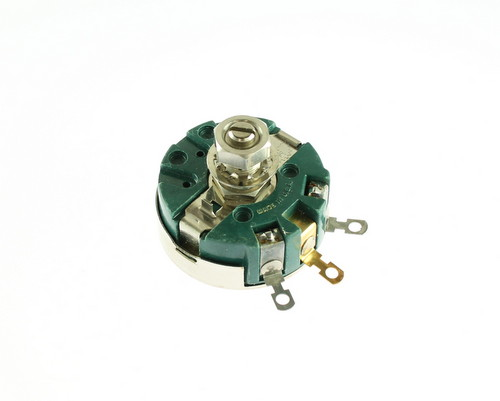 Picture of 58C2-2500 CLAROSTAT potentiometer 2.5 kOhm, 4W Rotary 58C2 Series