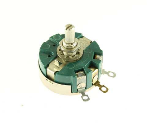 Picture of RA30NASD150A CLAROSTAT potentiometer 15 Ohm, 4W Rotary RA30NASD Series