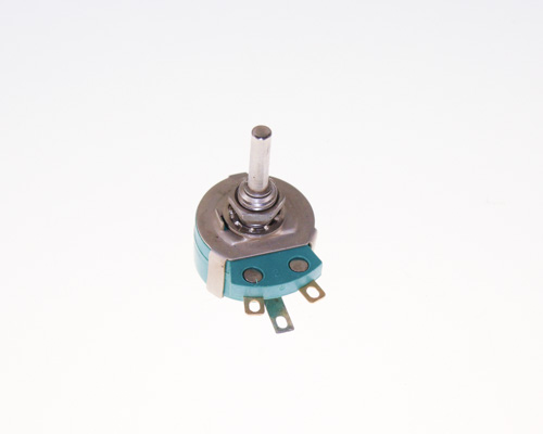Picture of rotary ra10 series potentiometers.