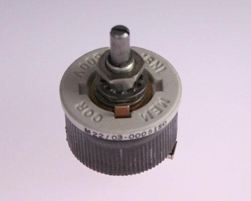 Picture of M22/03-00051SD MEMCOR potentiometer 6 Ohm, 25W Rheostat 25 Watt