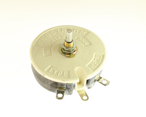 Picture of MP25A5000 VISHAY potentiometer 5 kOhm, 100W Rheostat 100 Watt