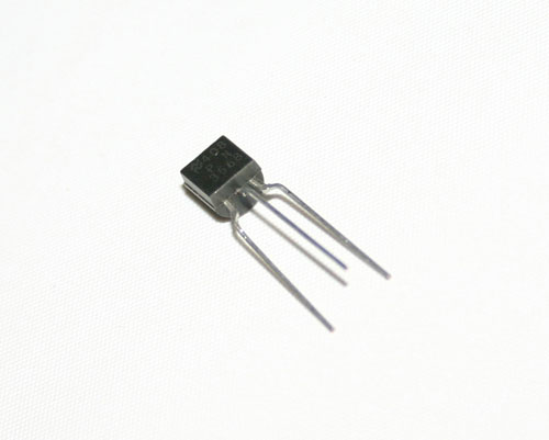 Picture of transistor semiconductors.