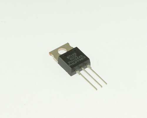 Picture of triac semiconductors.