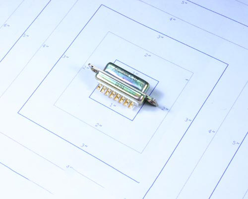 Picture of 117DA15S Amphenol connector D-Subs