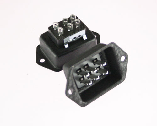 Picture of P-3306-DB BEAU connector Industrial Plugs