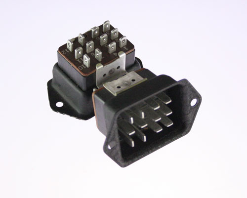 Picture of P-312-DB CINCH connector Industrial Plugs