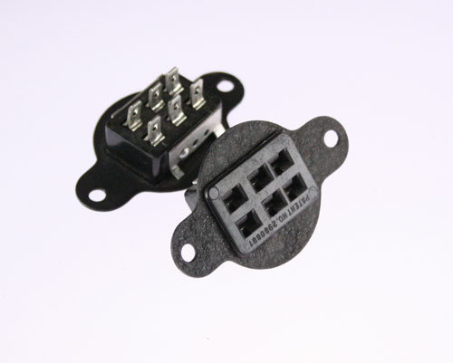 Picture of S-306-FP CINCH connector Industrial Sockets
