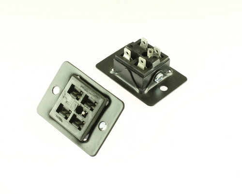 Picture of S-2404-SB CINCH connector Industrial Sockets