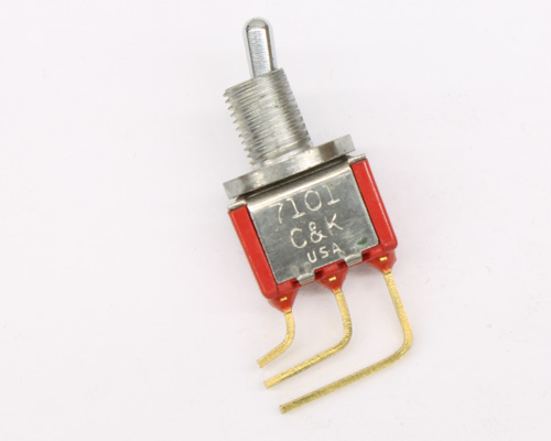 Picture of 7101MCWABE C&K switch toggle  miniature