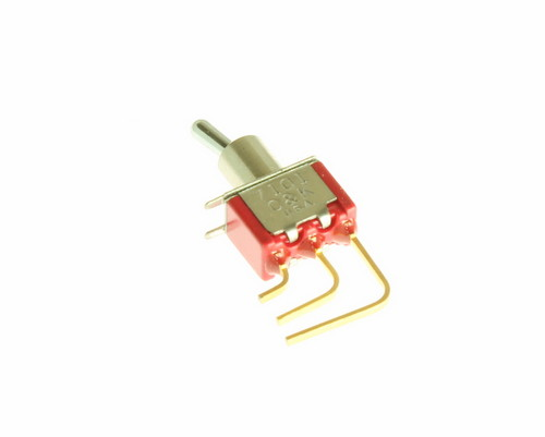 Picture of 7101MD9AV2BE C&K COMPONENTS switch Toggle  Miniature
