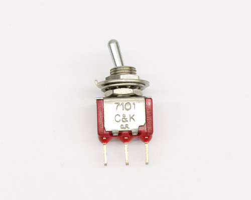 Picture of 7101MDCQE C&K switch toggle  miniature